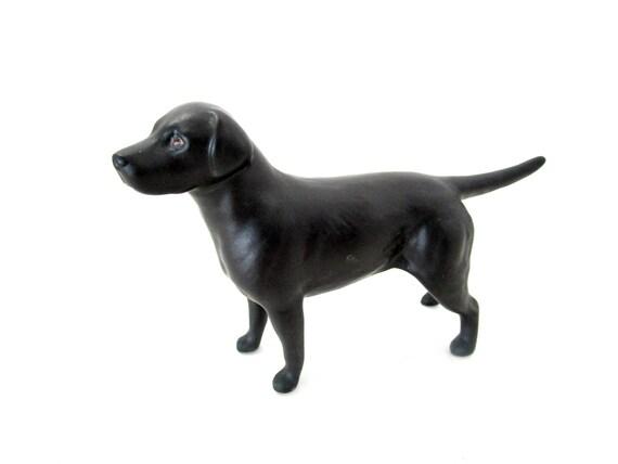 Beswick Labrador Retriever, Black Lab, Labrador Retriever Figurine, Black Dog, Beswick of England