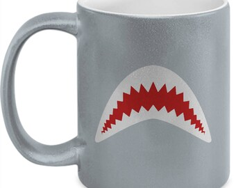 Great White Shark Jaws Movie Funny Gift Coffee Cup Mug Week Sharks Gonna Need a Bigger Boat