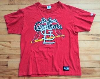 Vintage St. Louis Cardinals Large 80's Starter T Shirt MLB VTG