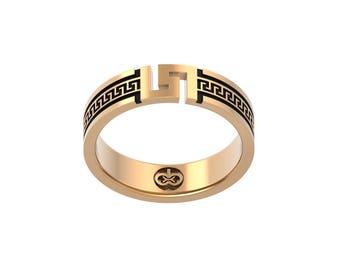 Hera Ring Versace Women Jewelry Gold 14K Silver Bronze