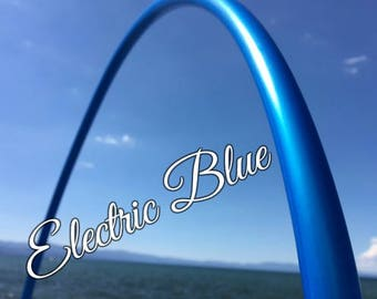 "Electric Blue Colored 5/8"" or 3/4"" PolyPro Hula Hoop - You pick the size - by Colorado Hula Hoops"