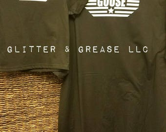 Top Gun Maverick & Goose Father and Son Shirts