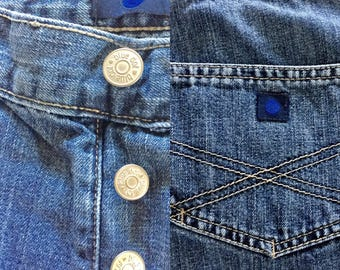 Vintage Denim Mom Jeans by Blue Dot... Free Shipping