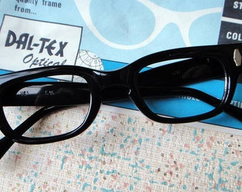 1950s vintage eyeglasses frame new old stock