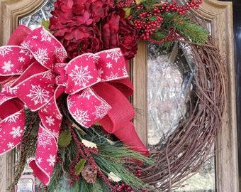 Holiday/Winter Wreath