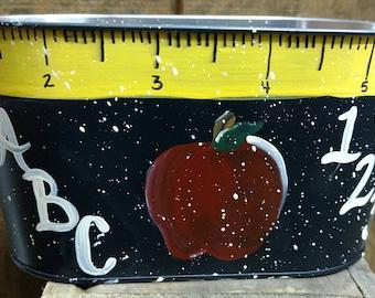 Teacher Bucket - Personalized, Teacher Appreciation