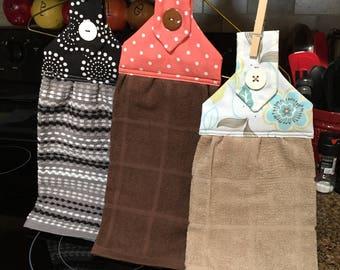 Kitchen Dish Towel, Kitchen Hand Towel, Kitchen Towel, Dish Drying Towel, Tan Dish Towel, Brown Dish Towel, Black Dish Towel, Towels