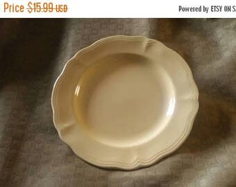 On Sale Federalist Ironstone Buttercup 10 inch Dinner Plate Made in Japan Serving Plate