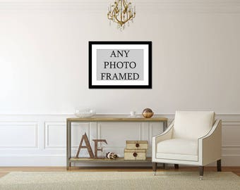 Framed photography, framed art, photography frames, custom framing, choose your frame, framed art print, framed picture, black, white, frame