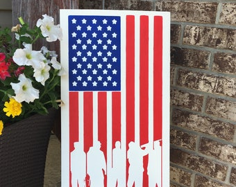 American Flag, sign