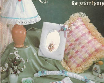 Liesure Arts quick and easy Ribbon Projects for your home 1983