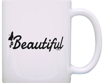 Inspirational Quote Gifts Beautiful Coffee Mug -  M11-3412