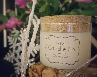 Cookie Jar - Holiday Scented Soy Wax Candle (Limited Edition)