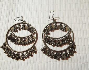 orecchini vintage cerchi indiani
