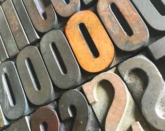 Sold By The Letter / Vintage Letterpress / Wood Letterpress / Antique Letterpress / Printer Block / Wood Type / Wood Letter / Farmhouse