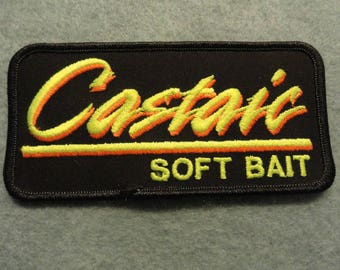 Castaic Soft Bait Fishing  Patch - FREE Shipping