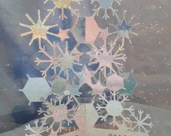 Snow Fall 3D Christmas Card