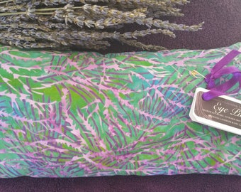 Lavender scented eye pillow for stress or headache relief