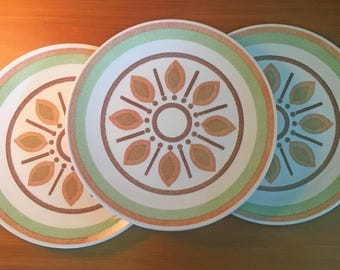 Taylor Smith Indian Morn Dinner Plates - Set of 3