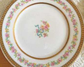 Ahrenfeldt Limoges Dessert Plates - Set of 3