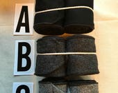 Winnegas / Leg Wraps 100% Wool in Various Colors