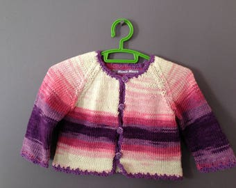 cotton Cardigan 3/6 months