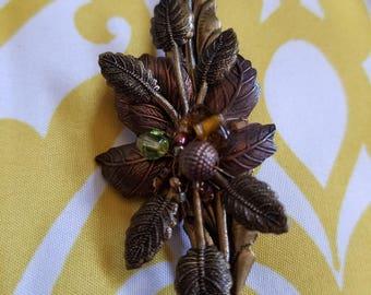 Vintage Cara Stimmel ltd Leaves Brooch