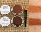 NEW! Eyebrow Pomades- AUBURNS- All Natural, Vegan Friendly Eyebrow Filler- Don't neglect your Brows!