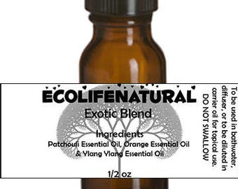 SALE Exotic Essential Oil blend