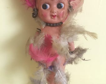 Vintage Flapper Girl Kewpie Doll