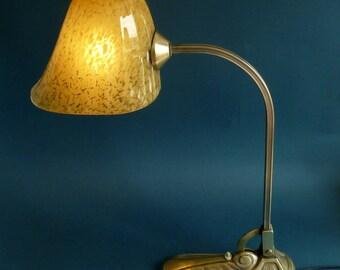 Art deco desk lamp bronze