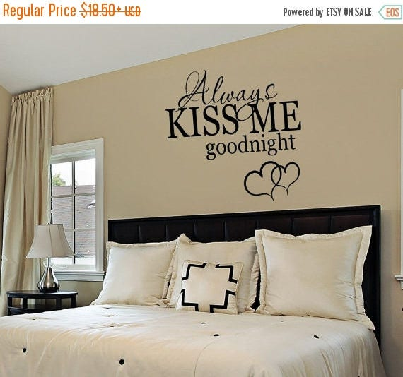 CLEARANCE SALE Bedroom Decor Bedroom Wall Decal Always