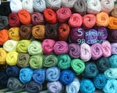 5, Catania cotton yarn, 5 skeins, 250 gram in total, quality Cotton crochet yarn, pick your colors, now 98 colors, lalylala, granny squares