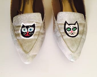 Space Kitty Werk Shoes