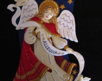 Bucilla Christmas Angel - Completed