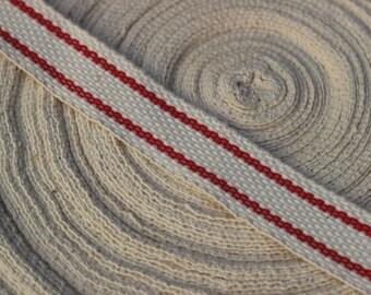 cotton Strip wide ansse bag belt cord apron or other