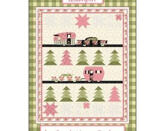 Glampin' Quilt Pattern by Barbara Cherniwchan  of Coach House Designs