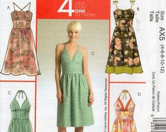 McCall's LAURA ASHLEY Pattern 5380 SUNDRESSES Misses 4 6 8 10 12
