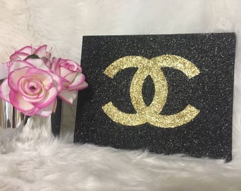 Chanel Inspired Decorative Wall Art