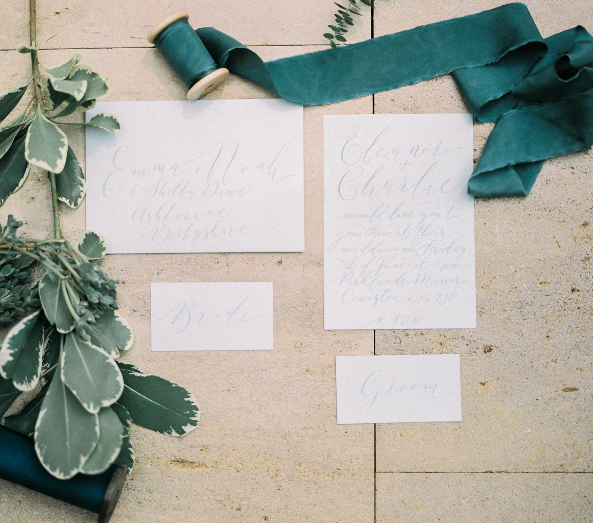 Calligraphy photography by Katie Julia