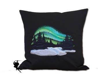 Polar Lights Pillow Cushion