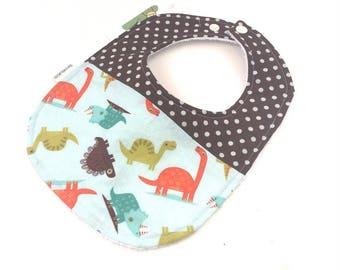 Boys Dinosaur Bib - Baby Bibs - Baby Boy Bibs - Newborn Baby Boy Gifts - Toddler Bib - Dinosaur Baby Shower - New Mom Gift - Boy Bibs - 23