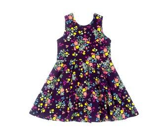 Gypsy Fields Tank Mini Twirl Dress