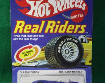 NOS 1982 Hot Wheels  Real Riders Classic Corba No 4369 Made in Malaysia