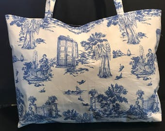 Doctor Who Kitschy Tote