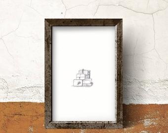 Fine art print for art lovers