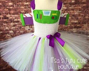 Buzz Lightyear dress, buzz lightyear party, buzz lightyear tutu, space ranger tutu, buzz lightyear costume, astronaut costume