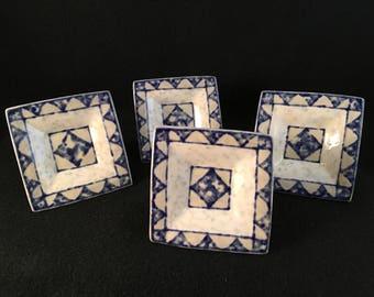 Gorgeous Porcelain Drawer Knobs Pulls (4)