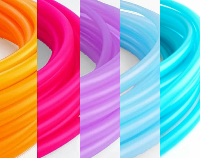 """Ombre 5 Tone Polypro Hula Hoop 3/4""""or 5/8"""" Collapsible for Travel- Push Pin Connection"""