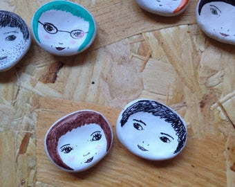 Custom Couple Face Dishes. Bespoke/Personalised. Great unique/quirky gift. Valentines Gift. Love. Bespoke. Customised